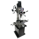 JET 351141 JMD-40GH Geared Head Mill Drill with Newall DP700 2-Axis DRO and X-Powerfeed