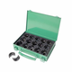 Factory Reconditioned Greenlee FCEKD06AL 12-Piece 6 Ton Cimping Die Set