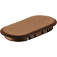 Festool 201355 Domino XL Anchor Brown Cover Cap (32-Pack)