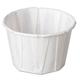 Genpak F200 Paper Portion Cups, 2 oz., White, 250/Bag