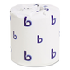 Boardwalk BWK6155 Two-Ply Toilet Tissue, White, 4 1/2 x 4 1/2 Sheet, 500 Sheets/Roll, 96 Rolls/CT