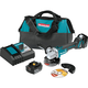 "Makita XAG04T 18V LXT Lithium-Ion Brushless Cordless 4-1/2"" / 5 in. Cut-Off/Angle Grinder Kit (5.0Ah)"