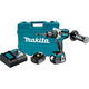 Factory Reconditioned Makita XPH07MB-R LXT 18V 4.0 Ah Cordless Lithium-Ion Brushless 1/2 in. Hammer Driver Drill Kit