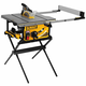 Factory Reconditioned Dewalt DWE7499GDR 15 Amp 10 in. Site-Pro Compact Jobsite Table Saw with Guard Detect & Rolling Stand