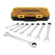 Dewalt DWMT74733 8 Piece Full Polish Ratcheting Combination Wrench Set