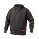 Milwaukee 311B-M NO DAYS OFF Hooded Sweatshirt (Black), Medium