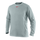 Milwaukee 411G-L WORKSKIN Light Weight Performance Long Sleeve Shirt (Gray), Large