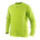 Milwaukee 411HV-S WORKSKIN Light Weight Performance Long Sleeve Shirt (High Visbility), Small