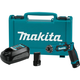 Makita DF012DSE 7.2V Lithium-Ion Cordless 1/4 in. Hex Driver-Drill Kit with Auto-Stop Clutch