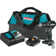 Makita XFD11R1B 18V LXT Lithium-Ion Brushless Sub-Compact 1/2 in. Cordless Drill Driver Kit (2 Ah)