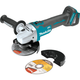 "Makita XAG04Z 18V LXT Lithium-Ion Brushless Cordless 4-1/2"" / 5 in. Cut-Off/Angle Grinder, Tool Only"