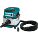 Makita XCV07ZX 18V X2 LXT Lithium-Ion (36V) Brushless Cordless 2.1 Gallon HEPA Filter Dry Dust Extractor/Vacuum, Tool Only