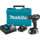 Makita XPH11RB 18V LXT Lithium-Ion Sub-Compact Brushless Cordless 1/2 in. Hammer Driver-Drill Kit (2.0Ah)