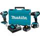 Makita XT275T 18V LXT Lithium-Ion Brushless Cordless 2-Pc. Combo Kit (5.0Ah)