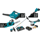 Makita XT331PTX 18V X2 LXT 5.0 Ah Cordless Lithium-Ion Brushless 3-Piece Combo Kit with Angle Grinder