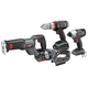 Factory Reconditioned Porter-Cable PCL418IDC-2R Tradesman 18V Cordless Lithium-Ion 4-Tool Combo Kit