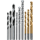 Makita D-16449 9-Piece Assorted Drill Bit Set
