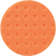 Makita T-02674 5-1/2 in. Hook and Loop Foam Polishing Pad (Orange)