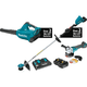 Makita XT277PTX 18V X2 LXT 5.0 Ah Cordless Lithium-Ion Brushless 2-Piece Combo Kit with Angle Grinder