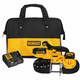 Factory Reconditioned Dewalt DCS371P1R 20V MAX XR Lithium-Ion Portable Band Saw Kit