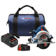 Bosch CCS180-B14 18V 6-1/2 In. Circular Saw Kit with CORE18V Battery
