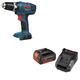 Bosch DDB180B-NSKC181-101-BNDL 18V Compact 3/8 in. Cordless Drill Driver Combo Kit
