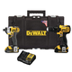Factory Reconditioned Dewalt DCKTS280C2R 20V MAX Cordless Lithium-Ion Drill Driver & Impact Driver Combo Kit with ToughSystem Case