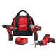 Milwaukee 2498-23 M12 Cordless Lithium-Ion 3-Tool Combo Kit