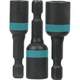 Makita A-97265 Makita ImpactX 3 Piece 1-3/4 in. Magnetic Nut Driver Set