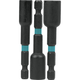 Makita A-97689 Makita ImpactX 3 Piece  2-9/16 in. Magnetic Nut Driver Set