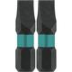Makita A-96621 Makita ImpactX #8 Slotted 1 in. Insert Bit, 2/pk