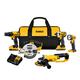 Dewalt DCK521D2 20V MAX Compact 5 Tool Combo Kit