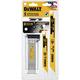 Dewalt DWABK48SETCS 8-Piece Breakaway Reciprocating Saw Blade Set with Case