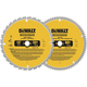 Dewalt DW3128P5 12 in. Series 20 Circular Saw 2-Blade Combo Pack