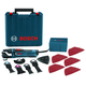 Factory Reconditioned Bosch GOP40-30C-RT StarlockPlus Oscillating Multi-Tool Kit with Snap-In Blade Attachment & 5 Blades