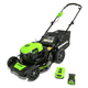 Greenworks 2507802 Greenworks MO40L410 40V 20 in. Brushless Dual Mower