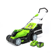 Greenworks 2508302 Greenworks MO40B411 40V 17 in. Brushed Mower