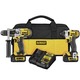 Dewalt DCK290L2 20V MAX Cordless Lithium-Ion 1/2 in. Hammer Drill and Impact Driver Combo Kit
