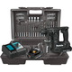 Makita XRH06RBX 18V LXT Lithium-Ion Sub-Compact Brushless Cordless 11/16 in. Rotary Hammer Kit, accepts SDS-PLUS bits, 65 Pc. Accessory Set