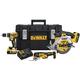 Dewalt DCKTS381M2 20V MAX 4Ah 3-Tool Kit with Tough SystemKit Box