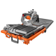 Factory Reconditioned Ridgid ZRR4040 12 Amp 8 in. Tile Saw with Stand