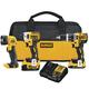 Dewalt DCK387D1M1 20V MAX XR Compact 3-Tool Combo Kit