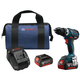 Factory Reconditioned Bosch DDS183-01-RT 18V 4.0 Ah Cordless Lithium-Ion EC Brushless Compact Tough 1/2 in. Drill Driver Kit