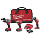 Milwaukee 2791-23 M18 Fuel 3/8 in. Impact Wrench with Friction Ring and 1/2 in. Drill/Driver