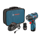 Factory Reconditioned Bosch PS82-02-RT 12V MAX 2.0 Ah Cordless Lithium-Ion EC Brushless 3/8 in. Impact Wrench Kit