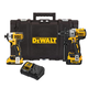 Factory Reconditioned Dewalt DCKTS291D1M1R 20V MAX XR Drill/Driver and Impact Driver Combo Kit with Tough System Case