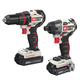 Factory Reconditioned Porter-Cable PCCK618L2R 20V MAX Cordless Lithium-Ion Brushless Drill and Impact Driver Combo Kit