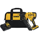 Factory Reconditioned Dewalt DCN650D1R 20V MAX XR Cordless Lithium-Ion 15 Gauge Angled Finish Nailer KitplusB50