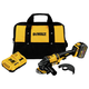 Factory Reconditioned Dewalt DCG414T1R 60V MAX Cordless Lithium-Ion 4-1/2 in. - 6 in. Grinder with FLEXVOLT Battery