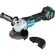 Makita XAG21ZU 18V LXT Lithium-Ion Brushless 4-1/2 in. or 5 in. Paddle Switch Cut-Off/Angle Grinder with Electric Brake and AWS (Tool Only)